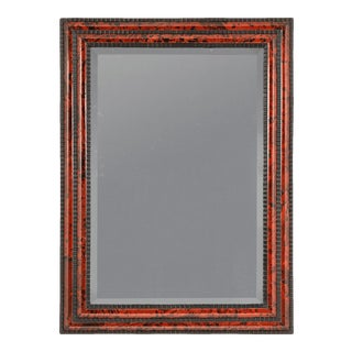 Flemish Baroque Tortoiseshell Mirror For Sale