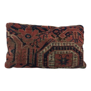 Antique Persian Rug Fragment Pillow For Sale