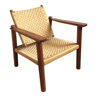 1960s Vintage Ashram Chair For Sale