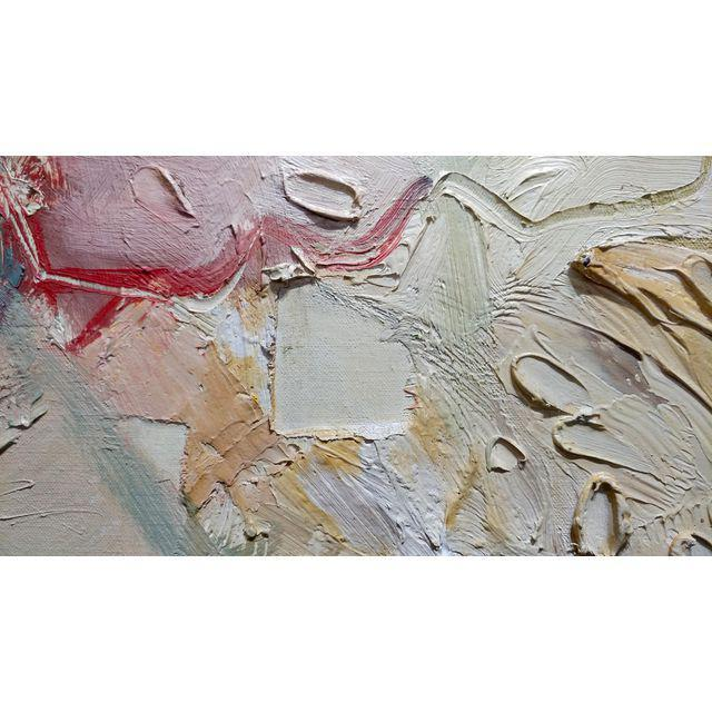 Joan Jacobs - 1959 Abstract Oil Painting For Sale - Image 9 of 11