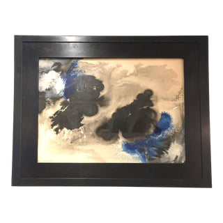 Abstract Composition Painting by Frederic Lund Ottesen, 1950 For Sale