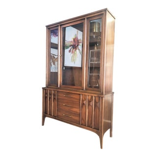 Mid Century Kent Coffey Perspecta China Cabinet For Sale