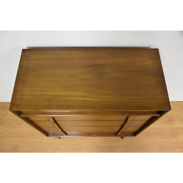 Albe Furniture Mid-Century Modern Tall Dresser For Sale - Image 4 of 8