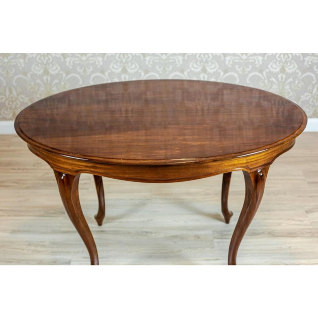 Traditional 19th-Century Louis Philippe Living Room Table For Sale - Image 3 of 8
