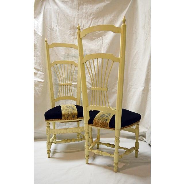 Chiavari High Back Chairs - A Pair - Image 7 of 9