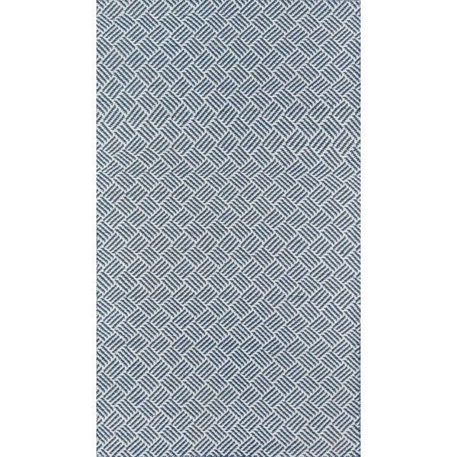 """Plastic Madcap Cottage Baileys Beach Beach Club Navy Indoor/OutdoorArea Rug 3'6"""" X 5'6"""" For Sale - Image 7 of 7"""