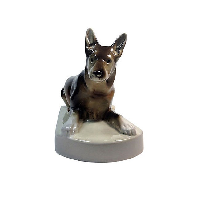 Royal Dux Porcelain German Shepherd - Image 2 of 5