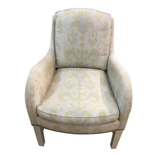 Lee Industries Pretty Transitional Chair For Sale