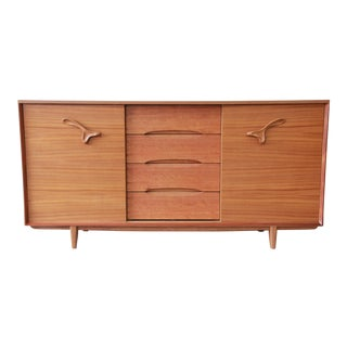 "Paul Laszlo for Brown Saltman ""Treasure Chest"" 21-Drawer Dresser or Credenza"