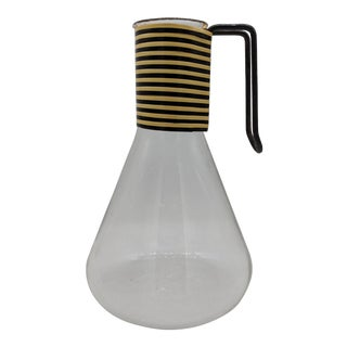 Pyrex Mid-Century Modern Vinyl Wrapped Glass Carafe
