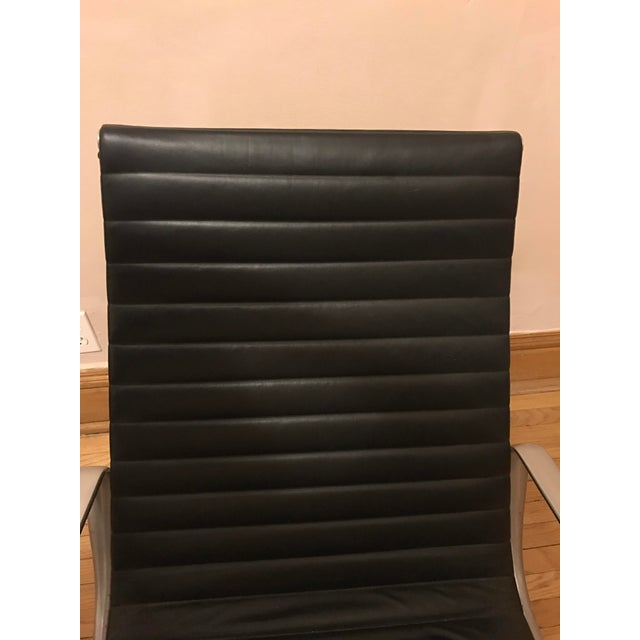 Eames for Herman Miller Aluminum Lounge Chair & Ottoman - Image 8 of 11