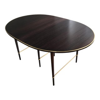 Mid-Century Modern Paul McCobb Calvin Group Oval Extension Dining Table