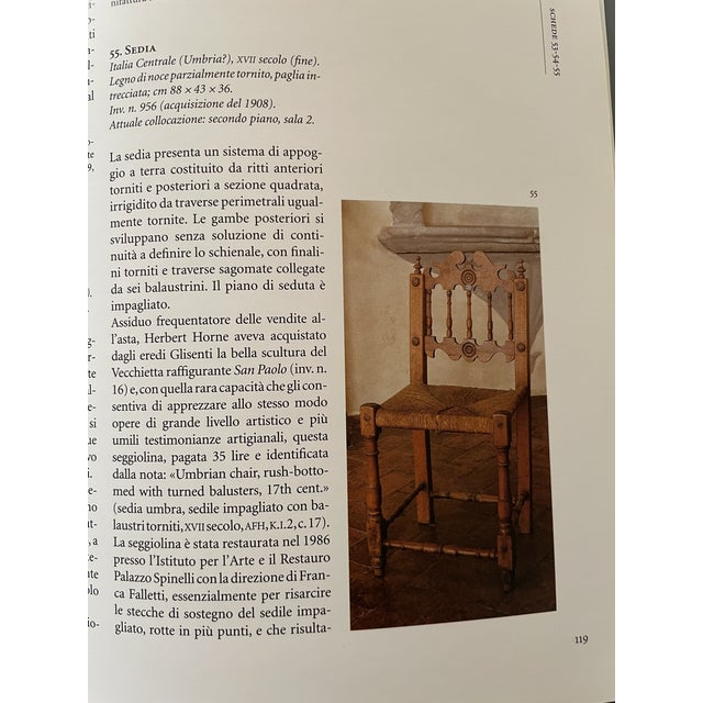 17th Century Italian Florentine Hand Carved Upholstered Walnut Side Chair For Sale - Image 12 of 13