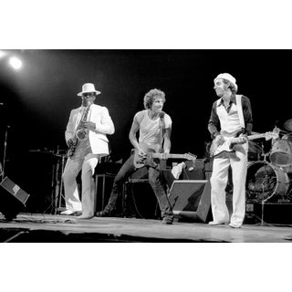 1976 Springsteen & E Street Band Original Giclee Photograph For Sale