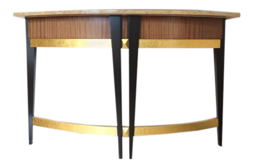 Art deco furniture Waterfall Art Deco Baker Furniture Company Marble Top Console Table Antiques Lovetoknow Gently Used Vintage Art Deco Furniture For Sale At Chairish