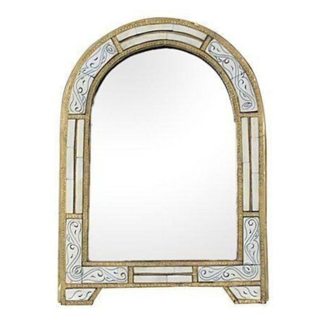 Moroccan Handmade Mirror with Engravings - Image 1 of 1