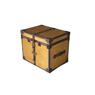 Costantini Sancia Campaign Style Custom Trunk in Parchment