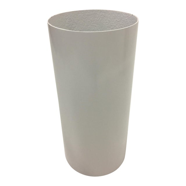Fiberglass and Lucite Electrified Pedestal For Sale