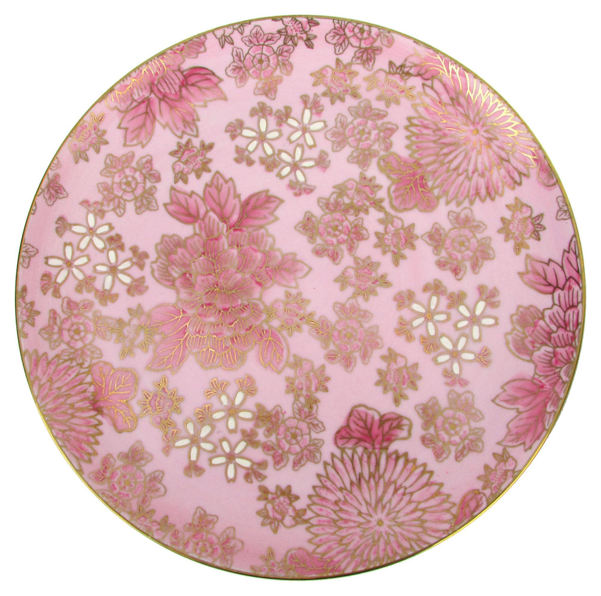 Dorothy Thorpe Pink Floral Dot3 Dinnerware 51-Pcs - Image 3 of 6  sc 1 st  Chairish & Dorothy Thorpe Pink Floral Dot3 Dinnerware 51-Pcs | Chairish