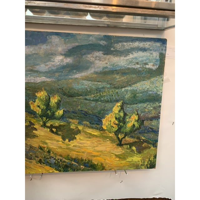 Stunning oil painting on board - Cali plein art Painting