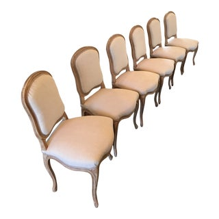 Early 20th Century Antique French Side Chairs- Set of 6 For Sale