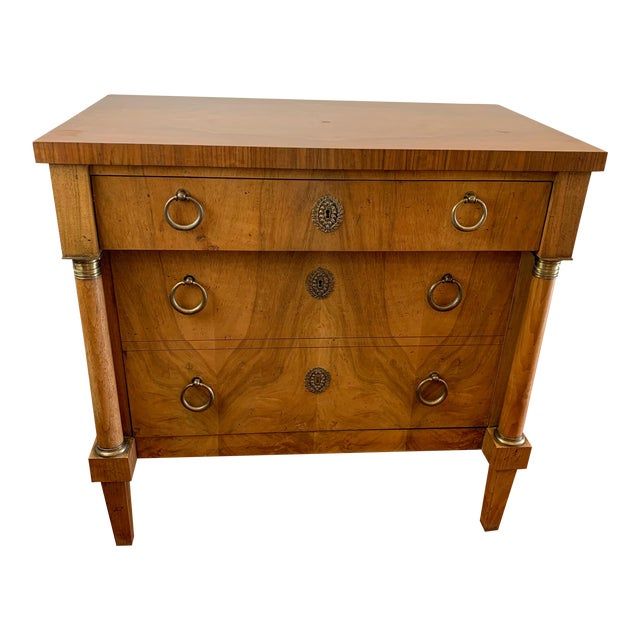 Vintage Baker French Empire Neoclassical Style Chest of Drawers For Sale