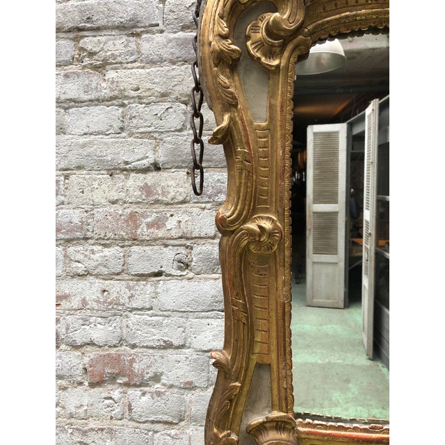 18th Century, Louis XV Mirror For Sale - Image 6 of 10