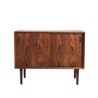 Vintage Danish Rosewood Cabinet For Sale