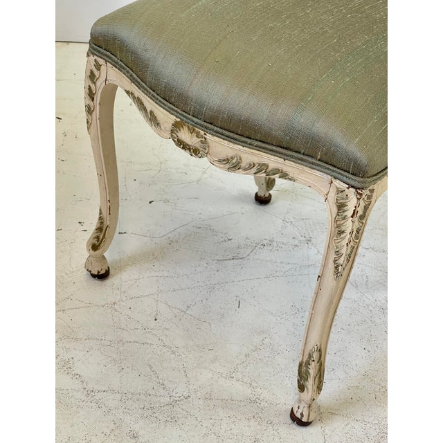 Italian Parcel Gilt Vanity Chair For Sale - Image 9 of 12