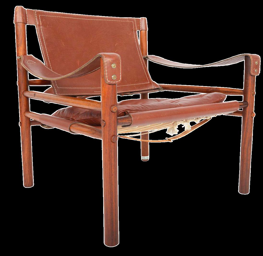 Beau Arne Norell Sirocco Safari Chair In Rosewood