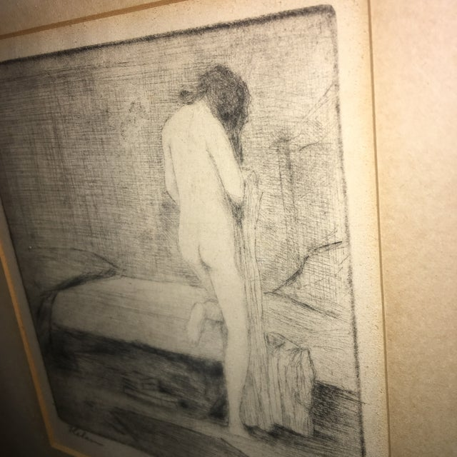 """Leon Dolice """"Helen """" Etching on Paper Print For Sale In New York - Image 6 of 7"""