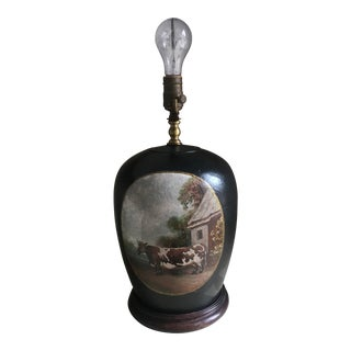 Vintage Art Deco Table Lamp For Sale