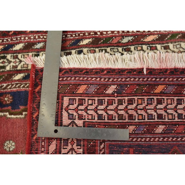 Persian Afshar Runner - 3'5'' X 9'3'' For Sale - Image 12 of 13