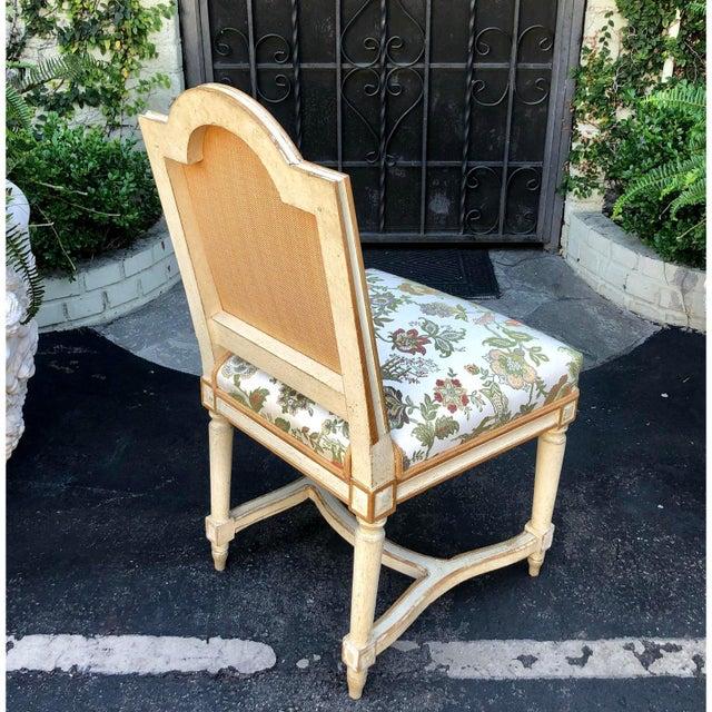 1920s Antique Louis XVI Maison Jansen Side Chairs - a Pair For Sale - Image 5 of 6