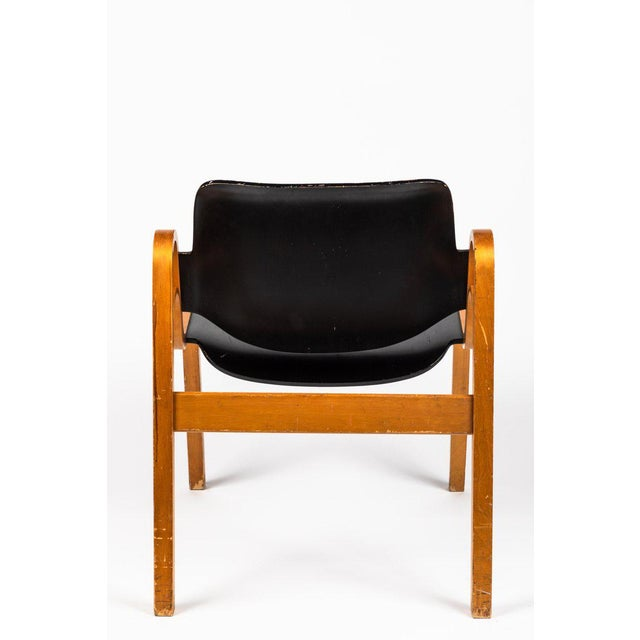 Wood 1950s Vintage Ilmari Tapiovaara 'Wilhelmina' Chair For Sale - Image 7 of 10
