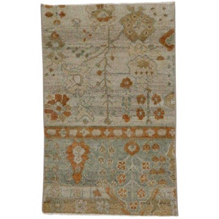 Modern Moroccan Style Accent Rug For Sale