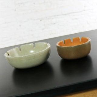 Vintage Mid Century Modern Pair Heath Ceramics Ashtrays by Edith Heath Preview