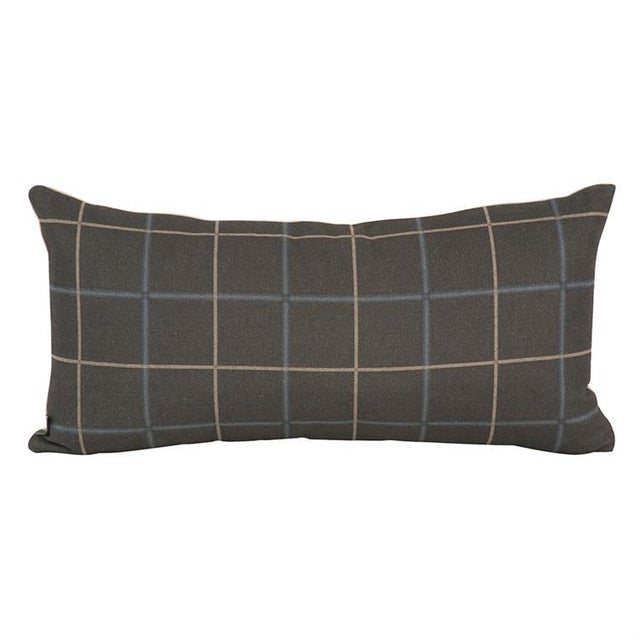 Oxford Slate Down Pillow For Sale In Chicago - Image 6 of 6