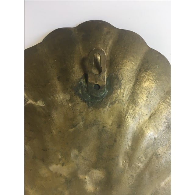 Brass Shell Candle Wall Sconce For Sale In Buffalo - Image 6 of 7