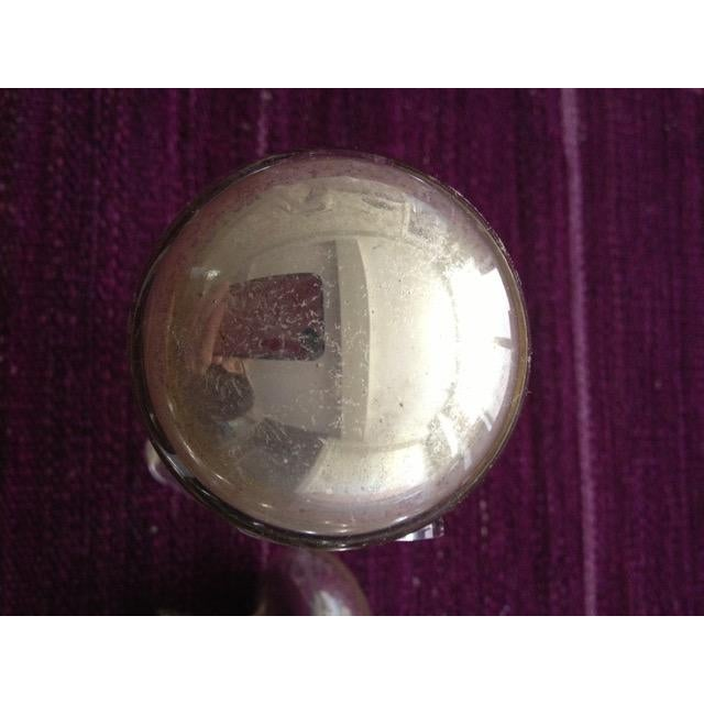 These are 4 sets of antique Victorian Mercury glass doorknobs. They are in great to good condition with some clouding and...