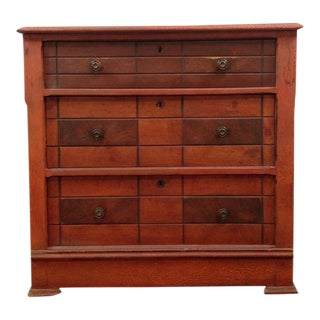 Arts & Crafts Maple Chest of Drawers For Sale