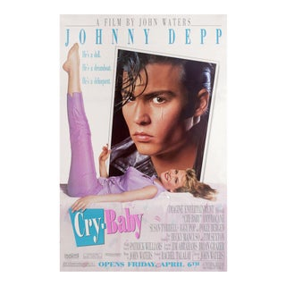 Cry-Baby 1990 U.S. Half Subway Film Poster For Sale