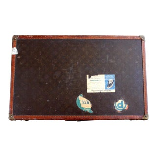 Vintage Louis Vuitton Suitcase For Sale