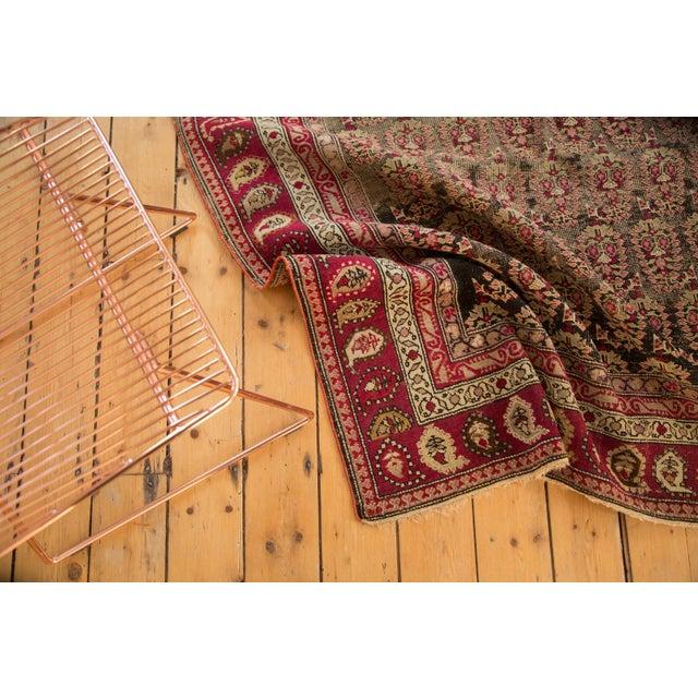 """Textile Antique Karabagh Carpet - 5'2"""" x 9'4"""" For Sale - Image 7 of 11"""