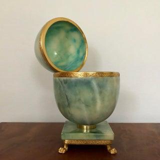 Italian Marble Egg Trinket Box Preview