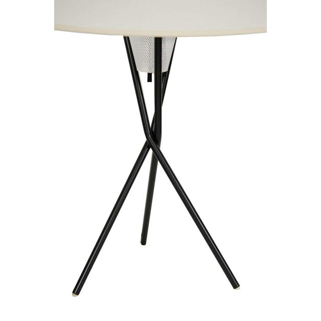 Gerald Thurston for Lightolier Tripod Table Lamps - Image 2 of 5
