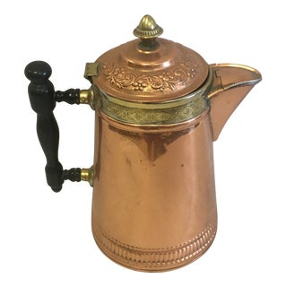 Copper Coffee Pot For Sale