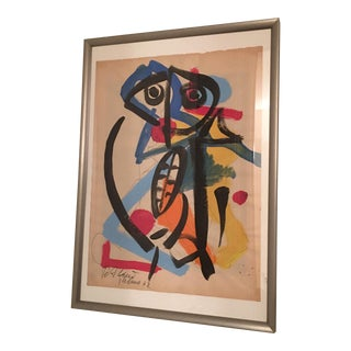 1962 Peter Keil Abstract Painting