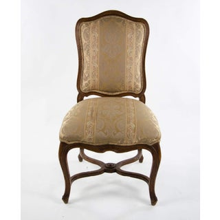 Late 19th Century Vintage Louis XV Style Upholstered Side Chair Preview
