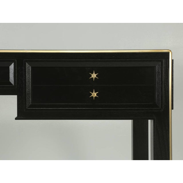 Jacques Adnet Inspired Desk For Sale In Chicago - Image 6 of 10